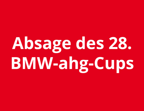 Absage des internationalen Damen-Tennis-Turnier um den 28. BMW-ahg-Cup